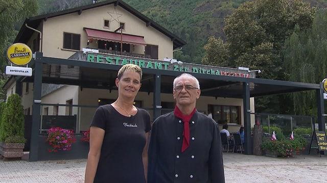Video «Kanton Wallis – Tag 2 – Restaurant Zer Bircha, Eyholz» abspielen
