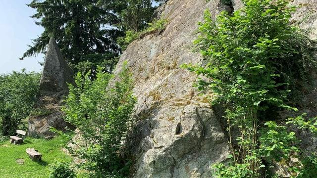 Grossi Flue: Grösster Findling im Mittelland