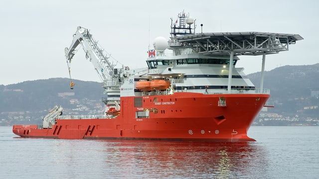 Das Hightech-Schiff namens «Seabed Constructor».