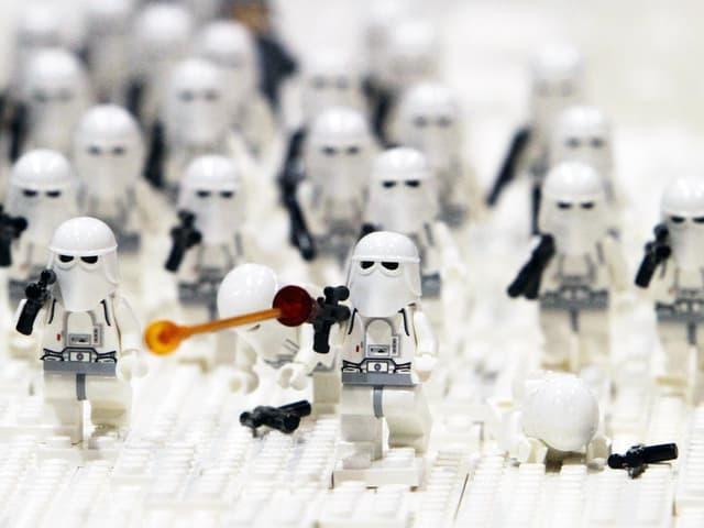 Lego-Figuren aus der «Star Wars»-Serie