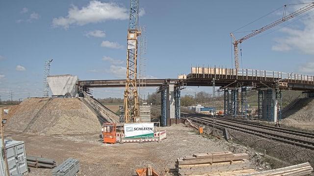 Die Brücke bei Auggen.