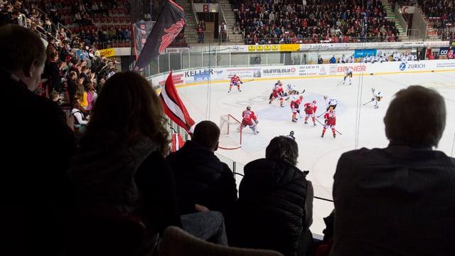 Die Winterthurer Eishalle Deutweg