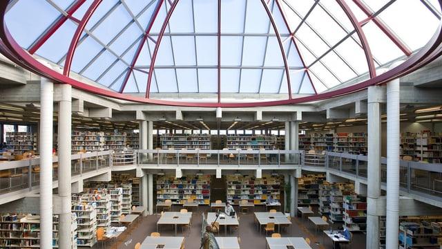 Die Bibliothek der HSG.