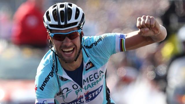Tom Boonen gewann die Flandern-Rundfahrt zum 4. Mal.