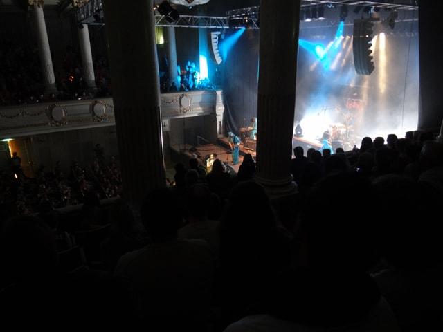 Das Konzertcasino war bis auf den letzten Platz ausverkauft.