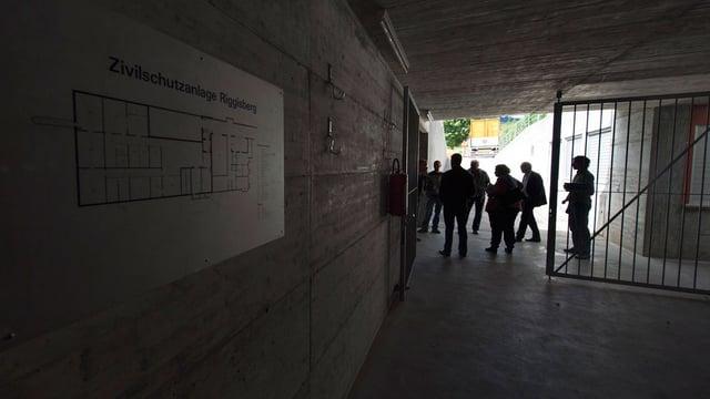Zivilschutzanlagen, wie jene in Riggisberg, werden als Durchgangszentren für Asylsuchende genutzt.