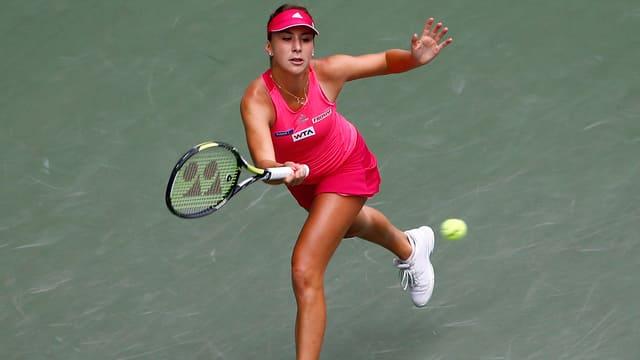 Belinda Bencic beim WTA-Turnier in Tianjin