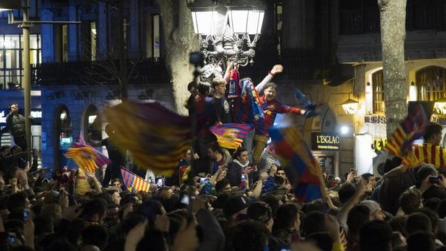 Barcelona-Fans