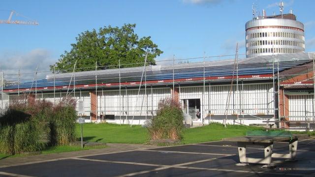 Solaranlage auf dem Schulhaus Grossacker