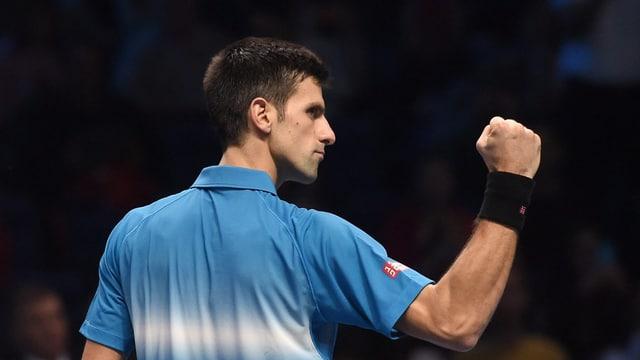 Novak Djokovic, il grond favurit.