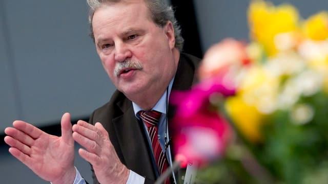 Reinhard Lange, CEO Kühne + Nagel
