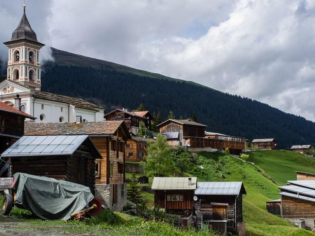 Hier kennt jeder jeden. Mit 254 Einwohnern zählt Vrin zu den kleinen Gemeinden.