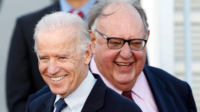 Der Grieche Theodoros Pangalos, zusammen mit US-Aussenminister Joe Biden.