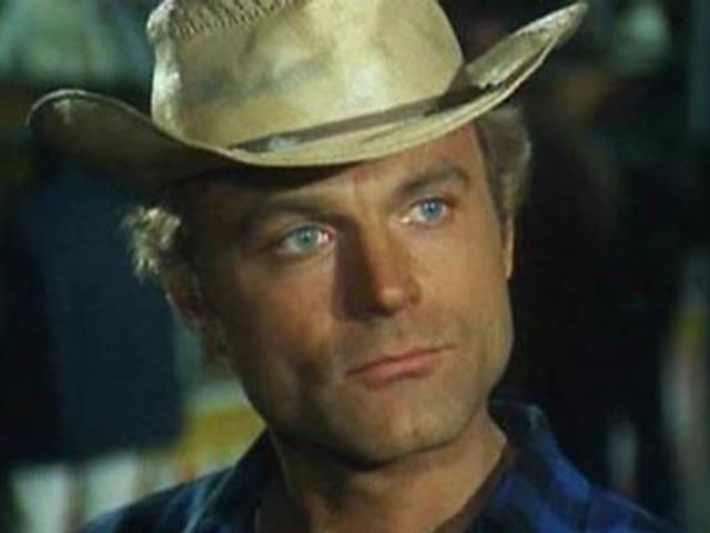 Terence Hill mit Hut.