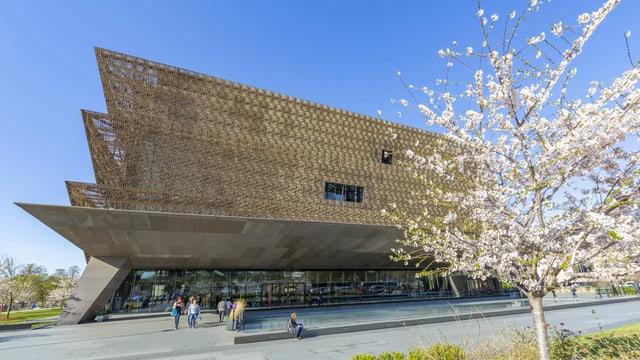 Moderner Museumsbau