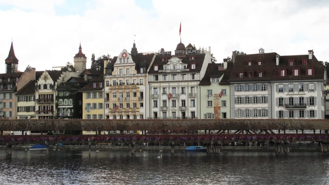 Reussfront in Luzern