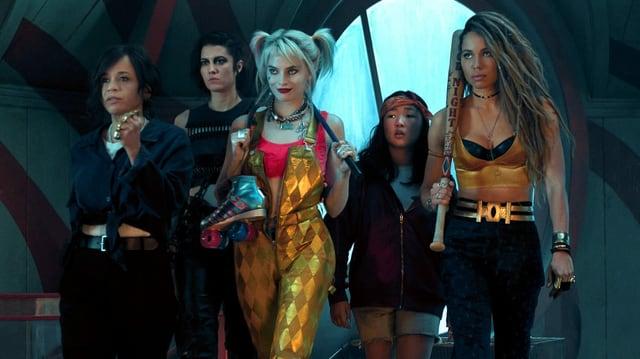 Die vier Antiheldinnen, die Birds of Prey bilden.