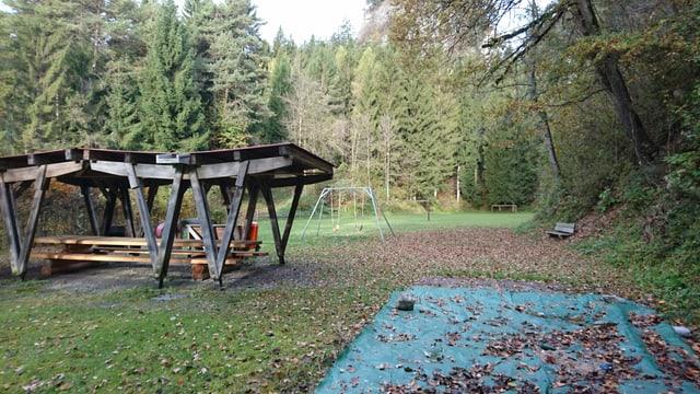 Sin questa part da l'areal vegn il parc motoric construì.