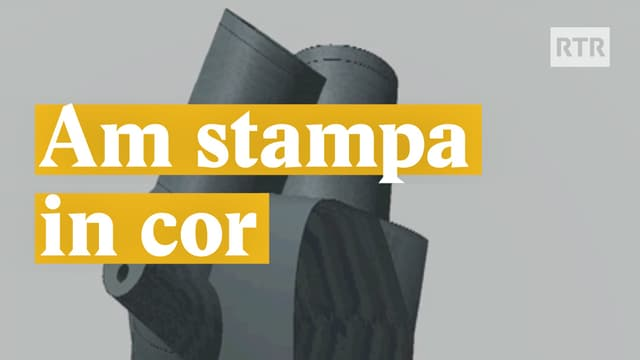 Laschar ir video «Am stampa in cor»