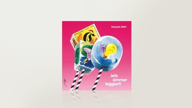 Basler Fasnacht 2009 – Jetz simmer laggiert!