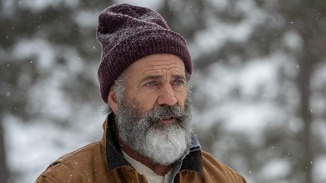 Mel Gibson in einer Nahaufnahme als «Fatman».