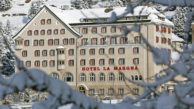 L'hotel La Margna a San Murezzan.