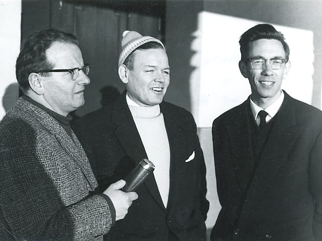 A Nadal 1962 si Riein: Tista Murk vi da far intervistas.