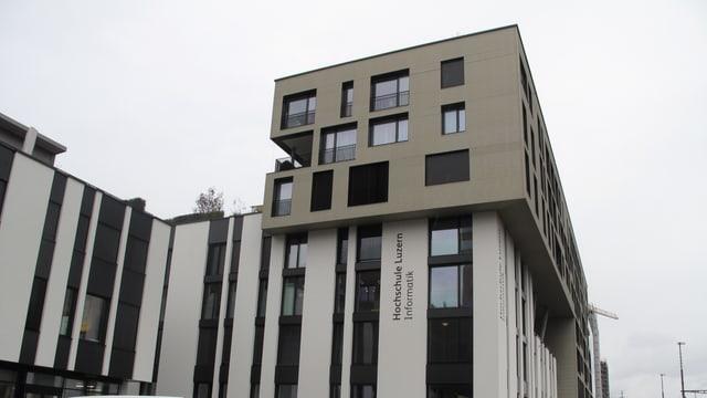 Grosses Schulgebäude.