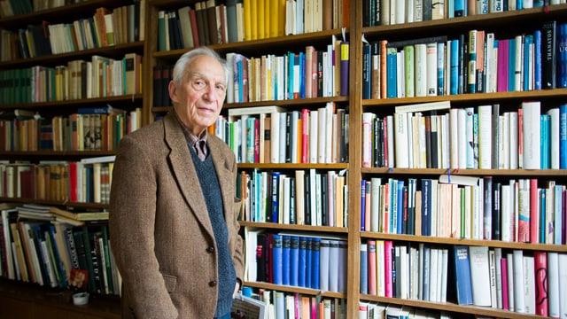 Dieter Wellershoff hatte kein Internet. Dafür hatte er Bücher.