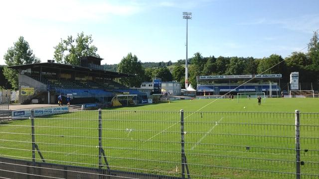 Das alte Stadion Breite in Schaffhausen soll nicht abgerissen, sondern saniert werden, findet der Quartierverein
