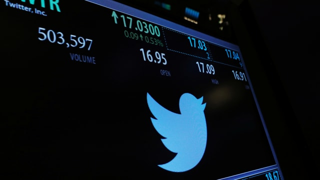 Das Logo von Twitter