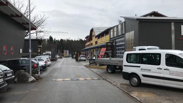 Aussenansicht Industriequartier Bubikon