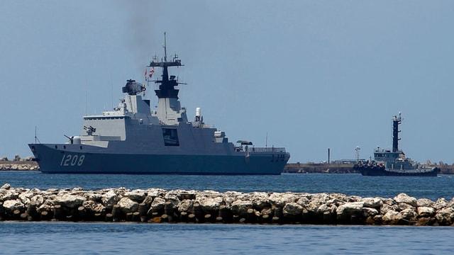 Archivbild der französischen Fregatte von 2010.