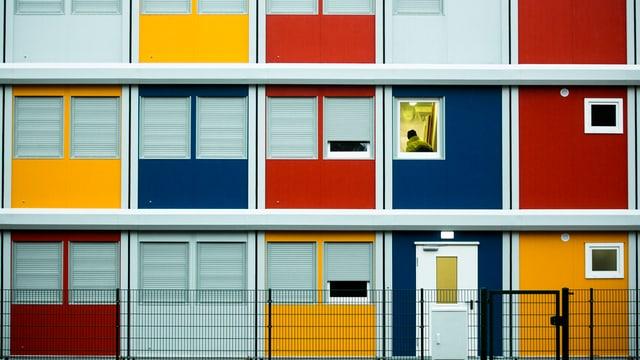 farbige Container