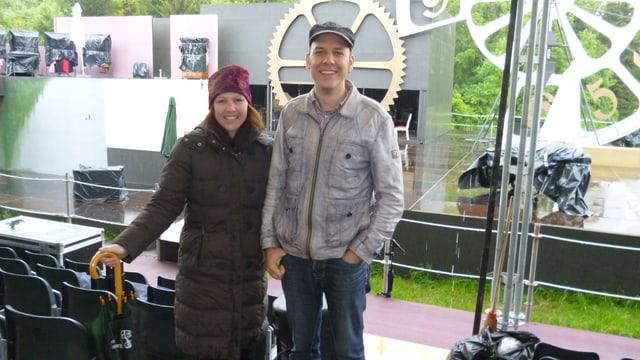 Melanie Gehrig und Reimar Walthert.