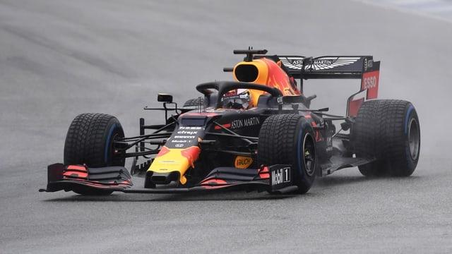 Max Verstappen en ses Red Bull.