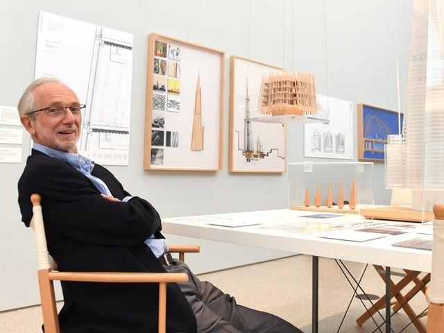 Stararchitekt Renzo Piano