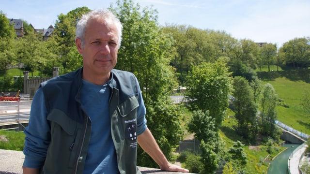 Il manader dal parc dad urs, Peter Schlup.