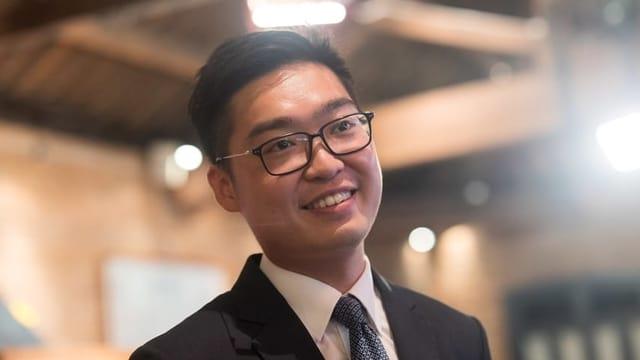 Der Anführer der verbotenen National Party, Andy Chan, ist bereit seit Donnerstag in Polizeigewahrsam.