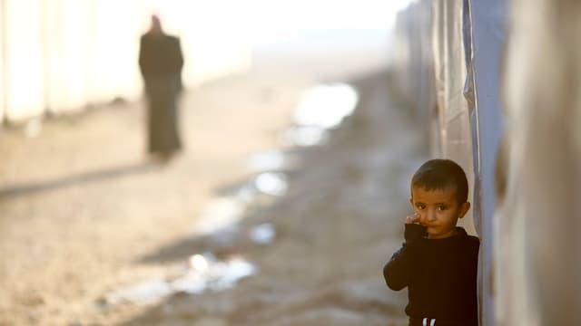 Flüchtlingslager bei der Stadt Suruc.