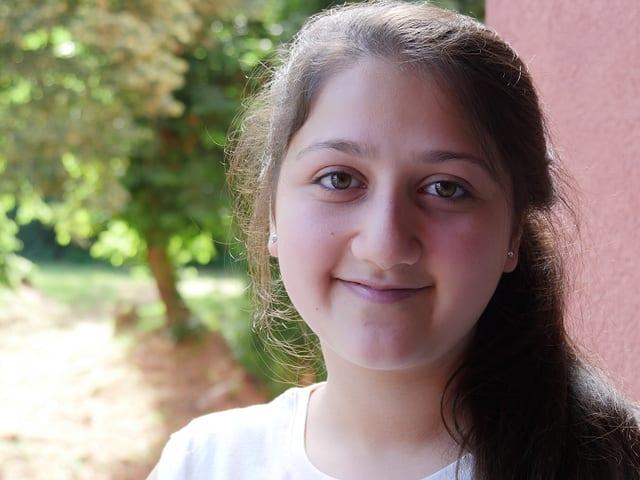 Ein Porträt von Razan Al Sheikh.
