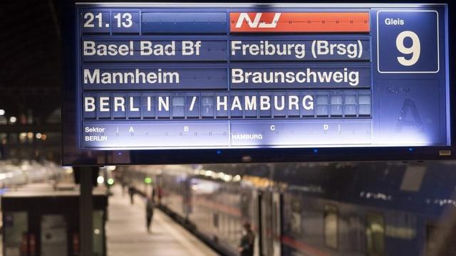 SBB und ÖBB planen Ausbau des Angebots