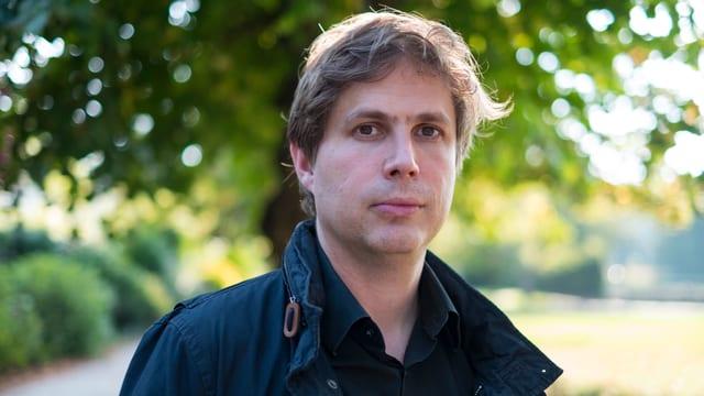 Porträt des deutschen Schriftstellers Daniel Kehlmann.
