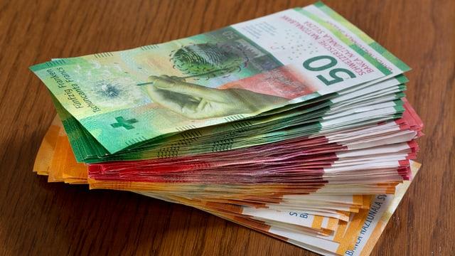 Banknotenstapel
