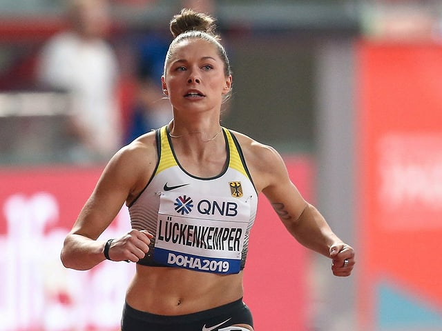 Sprinterin Gina Lückenkemper.