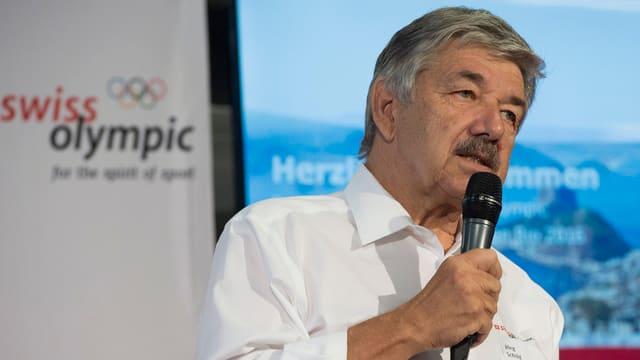 Jörg Schild, president Swiss Olimpic.