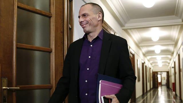 Il minister da finanzas grec Gianis Varaoufakis.