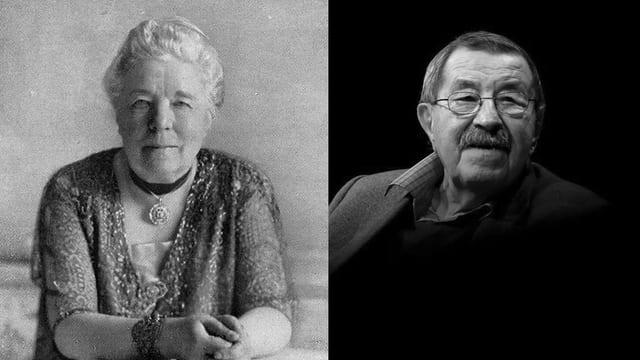 Selma Lagerlöf und Günther Grass.