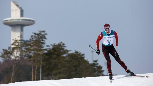 Luca Tavasci durant la cursa.