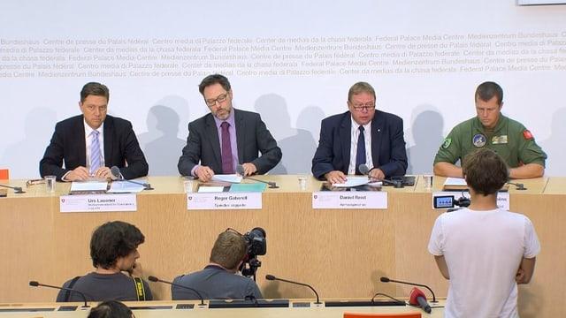 Bild der Pressekonferenz